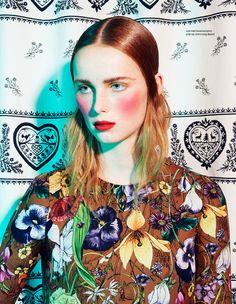 Rianne van Rompaey / Elle Netherlands February Issue