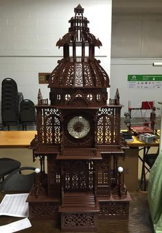 Michigan Man 3D Prints a 4-Foot-Tall Dome Clock and It's Incredible http://3dprint.com/52952/3d-printed-dome-clock/