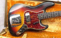 1961 Fender Jazz bass
