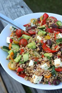 Greek Grain Salad – Lidey's Table