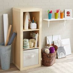 Better Homes and Gardens 3 Cube Storage Organizer, Multiple Colors Storage Cabinet With Baskets, Ikea Storage Cabinets, Kitchen Cabinet Storage, Cube Organizer, Cube Storage, Storage Shelves, Shelf, Bookcase Shelves, Bedroom Shelving