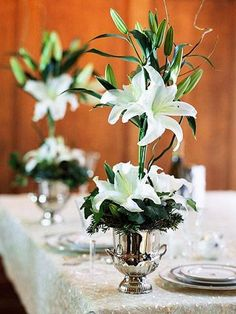 Topiary Lilies