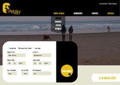 Petsky | Pet Airlines Branding by Kritika Kushwaha, via Behance