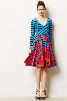 Anthropologie - Coquelicot Dress