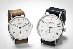 NOMOS Releases Two Limited Edition Watches, With $100 From Each Watch Going To Doctors Without Borders — HODINKEE - Wristwatch News, Reviews, & Original Stories