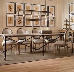 louis xvi chair with wood metal table restoration hardware