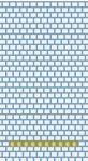 Schema Broche Noeud tissage Brick Stitch