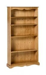 Badger Pine 5' Bookcase 8 would be a beautiful addition to both traditional and contemporary room settings. Further info: http://solidwoodfurniture.co/product-details-pine-furnitures-420-badger-pine-bookcase-.html
