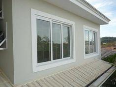 Simple Bungalow House Designs, House Floor Design, House Window Design, Small House Design, Cottage Design, Door Design, Window Grill Design Modern, Balcony Grill Design, Modern Bungalow Exterior