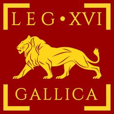 Legio XVI Gallica vexillum by Aquelion