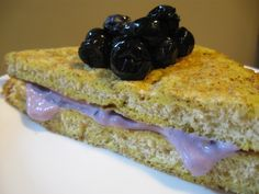 blueberry and spinach french toast | Good Eats | Pinterest | Toast ...