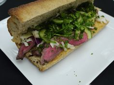 Asian Beef Sandwiches with Slaw
