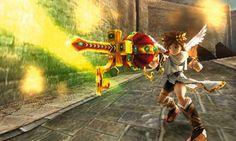 Kid Icarus Uprising - Nintendo 3DS review. There is a highly useful training ...
