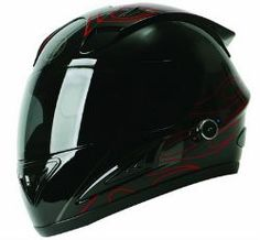TORC T10B Prodigy Full Faced Helmet with built in Blinc 2.0 Stereo Bluetooth Technolog