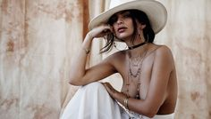 Emily Ratajkowski Is Wearing Jewelry and Almost Nothing Else in This New Campaign