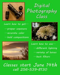 WOW! Only 4 days until class starts.  I am always so excited to turn people on to the joy of photography that comes with knowing how to use their camera, see light, and create a composition.  I have to check with HAL and see if there are any seats left.  If you are interested contact us through our website, photographybyjimandfrieda.com or Facebook and I'll let you know if we can get you in.