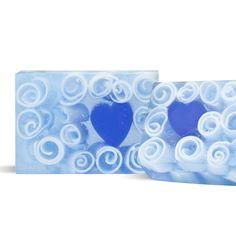 Blue Heart Soap Bar Kit Wholesale Supplies Plus #Handmade #Soap #DIY #Recipe #WeddingFavor #Favor