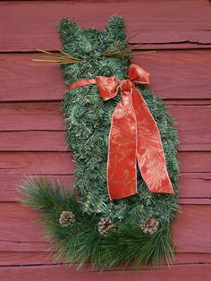 Cat Wreath by Kathy Morawski of Mystic Mare
