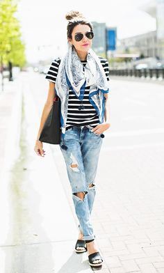 hello fashion stripes