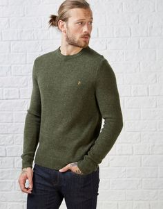 Farah Rosecroft Knit - A unique streetstyle store stocking own labels Hearts & Bows + CLOAK plus Fred Perry, Carhartt, ASA, Motel and more