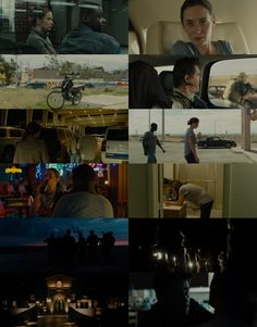 Sicario - an amazing action/drama/thriller which really keeps you feeling unsafe, with the help of Roger Deakins amazing cinematography.