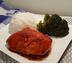 Pressure Cooker Russian Chicken with Rice and Broccoli Image