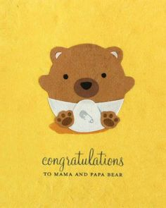 "Our ""Baby Bear Congrats"" card is lovingly handcrafted in the Philippines by women survivors of sex trafficking. The card incorporates a variety of handmade, recycled papers, making it environmentally"