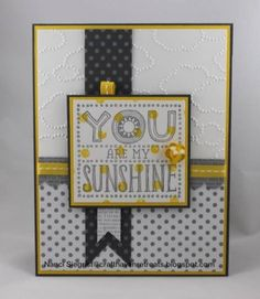 Sunshine Trio by CraftHavenRetreats - Cards and Paper Crafts at Splitcoaststampers