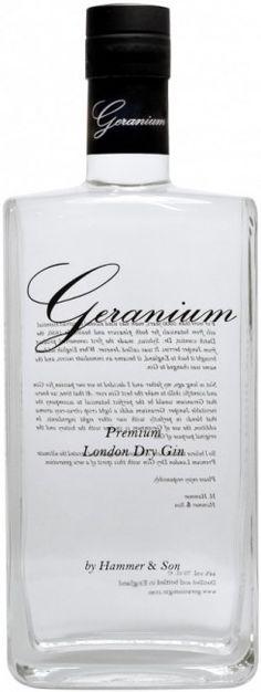 Geranium Premium London Dry Gin - the highest awarded gin 2010