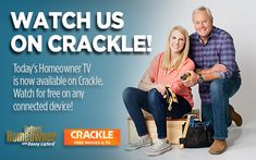 BIG ANNOUNCEMENT: THTV is now available (free!) on Crackle. So honored to be the FIRST #DIY series on this popular video-on-demand platform. 📰 Read the press release here! #tv #homeimprovement #diy