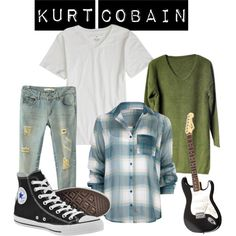 """Kurt Cobain"" by padthai on Polyvore"