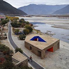 niyang river visitor centre - tibet - standard + zhaoyang - 2009 - photo chen su