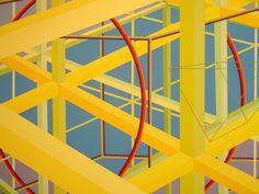 Al Held 'Bruges III', 1981, Chazen Museum of Art, Madison, Wisconsin | Flickr - Photo Sharing!
