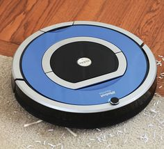 The Dirt Detecting Radio Frequency Robotic Vacuum 699.95