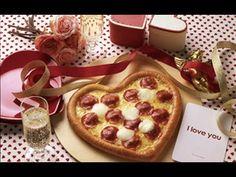 Video Pizza Unik Berbentuk Hati Di Hari Spesial