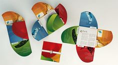 44 creative brochure designs | print24 Blog