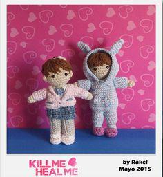 #amigurumi Kill Me Crochet Dolls, Teddy Bear, Tv, Create, People, Animals, Movies, Tejidos, Amigurumi