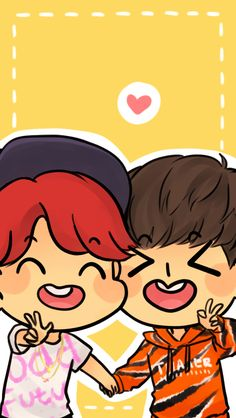 nicolzey said: Hi! Why haven't I found your blog earlier!? I don't know but I'm glad I found it because your drawings are super cute and your BTS posts are perfect! Also could I ask for Jimin and J-hope wallpaper for an IPhone 6 if it's not to much...