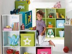 Meuble de rangement enfant on pinterest meuble enfant - Meuble de rangement avec bac ...