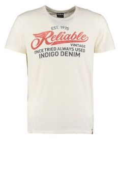 T-shirt imprimé - whisper white