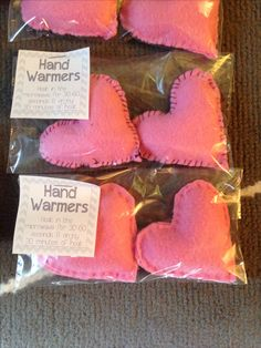 DIY hand warmers, Christmas gifts, valentines day, birthday gifts. Super easy!