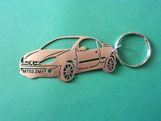 Peugeot 206 CC Keychain Personalized Keychain Car Keychain