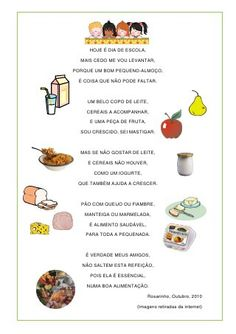 "Poema ""pequeno-almoço"""