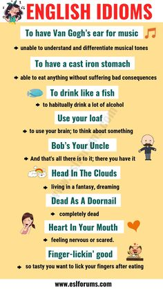 Top 20 Funny Idioms in English You Might Not Know! English Vocabulary List, Learn English Grammar, English Writing Skills, English Idioms, English Phrases, Learn English Words, Teaching English, English Vinglish, English Language
