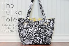 Make It Handmade: Tulika Tote Sewing Tutorial