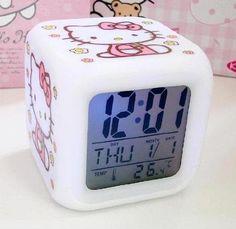 Amazon: Hello Kitty Alarm Clock Only $4.99 Shipped! - http://www.dealiciousmom.com/amazon-hello-kitty-alarm-clock-only-4-99-shipped/