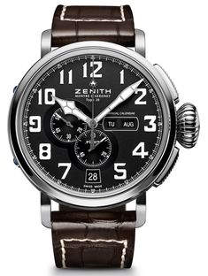 Zenith Pilot Montre d'Aéronef Type 20 Annual Calendar Watch
