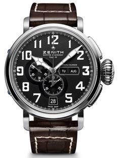 Zenith Pilot Montre d'Aéronef Type 20 Annual Calendar Watch