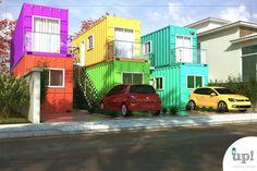 Condomínio Studio Container 40m² - Araras - Up! Containers