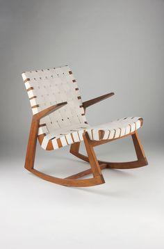 Douglas Snelling; 'Snelling Line' Rocking Chair, c1946.
